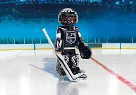 Nhl Los Angeles Kings Goalie 9030 Playmobil Usa