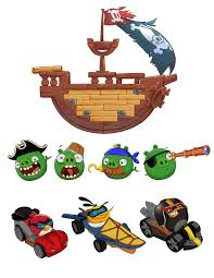 Jenga Pirate Pig Attack Game Angry Birds Go Stacking Games Games ...
