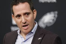 Eagles will look for longer-term free-agent fixes, could trade up in draft  as Howie