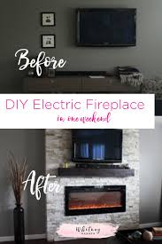 diy how to build a fireplace in one
