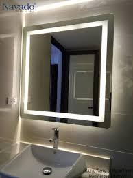 Gương đèn led phòng tắm Vĩnh Phúc | Gương, Đèn led, Trang trí