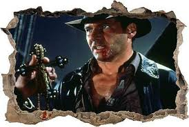 Indiana Jones Smashed Wall Decal Wall Sticker Home Decor Art Mural H962