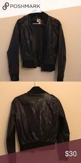 small xhilaration leather jacket