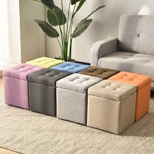Best Sale 36f462 Pick Up The Stool Adult Sofa Square Chair Artifact Box Furniture Storage Bench Kids Furniture Squatty Potty Vanity Saddle Stool Cicig Co