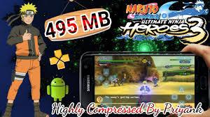 Naruto Ultimate Ninja Heroes 3 Psp High Compressed - heroeslasopa