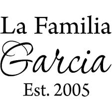 Amazon Com Vwaq La Familia Custom Family Name Spanish Wall Decal Insert Family Name 15 W X 8 H Home Kitchen