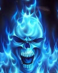 blue skull photos hd wallpapers pics