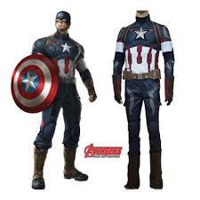 captain america deluxe men costumes