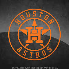 Houston Astros Logo Vinyl Decal Sticker 4 And Larger Sizes Available Mlb Ebay