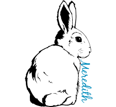 Personalized Bunny Decal Custom Decal Shapes And Sizes