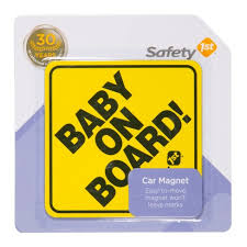 Safety 1st Baby On Board Sign Target