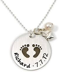 com baby footprint personalized