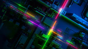 razer phone 2 abstract colorful hd
