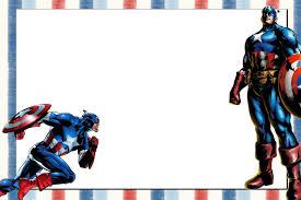 Invitaciones De Cumpleanos De Avengers Para Imprimir Invitaciones