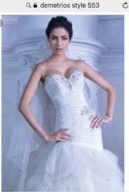demetrios bridal wedding dress gown