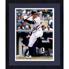 "Framed Austin Romine New York Yankees Autographed 8"" x 10 ..."