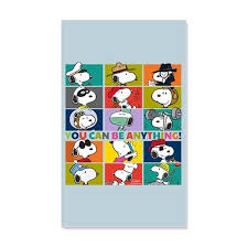 Snoopy You Can Be Anything 20x12 Wall Decal By Snoopystore Cafepress