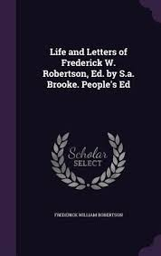 letters of frederick w robertson