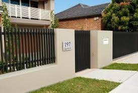 6 Appealing Tricks Garden Zone Fence Stretcher Bar Modern Villa Fence Modern Vertical Fence Wooden Fence Front Ya In 2020 Modern Fence Design Fence Design Front Fence