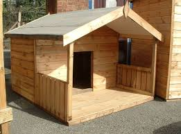 Dog House With Covered Porch Dog House With Porch Dog House Diy Diy Dog Kennel
