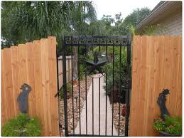 Wrought Iron Gate Wood Fence Wooden Garden Gate Iron Fence Gate Fence Design