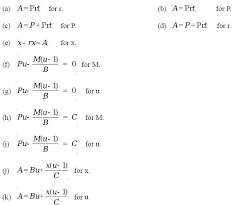 how to solve an equation or formula for