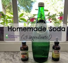 5 minute homemade soda 3 ings