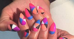 acrylic nail art designs ideas
