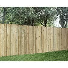 Wood Fencing Pressure Treated Board On Board 6 X 8 Panel Acq Wood Fence Fence Panels Picket Fence Panels