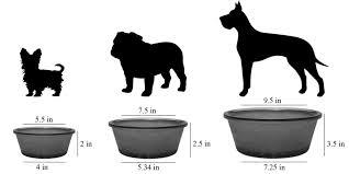 fawn glass pet bowl