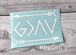God Is Greater Than The Highs Lows Car Decal Yeti Decal Vinyl Sticker M1008 Ebay