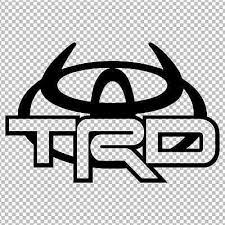 Toyota Trd Horns Logo Decal Vinyl Sticker 4runner Tundra Land Cruiser Tacoma Ebay
