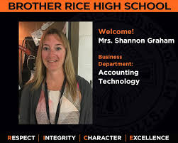 Welcome, Mrs. Shannon Graham! Mrs.... - Brother Rice High School,  Bloomfield, Michigan | Facebook