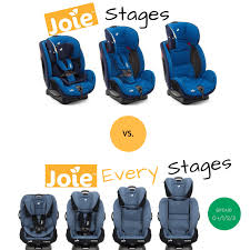 the joie stages vs joie every stages