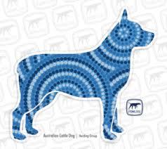 Australian Cattle Dog Decal Three Styles Fowl Dog