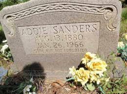 MITCHELL SANDERS, PARTHENIA ADELINE - Fulton County, Arkansas | PARTHENIA ADELINE  MITCHELL SANDERS - Arkansas Gravestone Photos