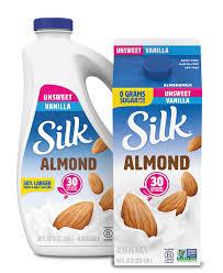 unsweet vanilla almondmilk silk