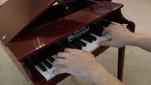 schoenhut toy piano you