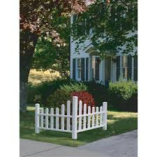 New England Arbors Country Corner Picket Fence Lowe S Canada