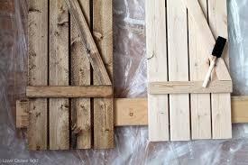 diy barn wood shutters love grows wild