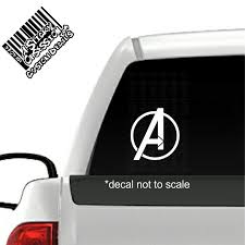 Avengers Decal A Sticky Obsession