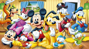 walt disney poster mickey mouse and