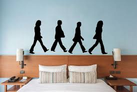 The Beatles Abbey Road Wall Decal Canvas Art Rocks