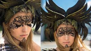 tribal makeup tutorial warrior make