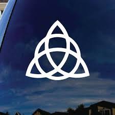 Triquetra Pagan Wiccan Car Truck Vinyl Decal