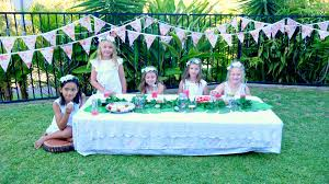 fairy garden party fresh air