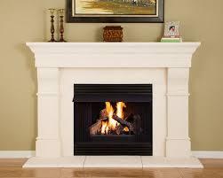 cast stone fireplace mantel kit