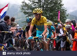 2014 Tour De France Stage 8 Tomblaine to Gerardmer La Mauselaine July 12th.  Vincenzo Nibali Stock Photo - Alamy