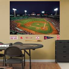 Shop Fathead Boston Red Sox Fenway Park Mural Wall Decals Overstock 9750102