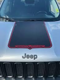 2015 2020 Jeep Renegade Trailhawk Vinyl Hood Decal Sticker Graphic Stripe Ebay